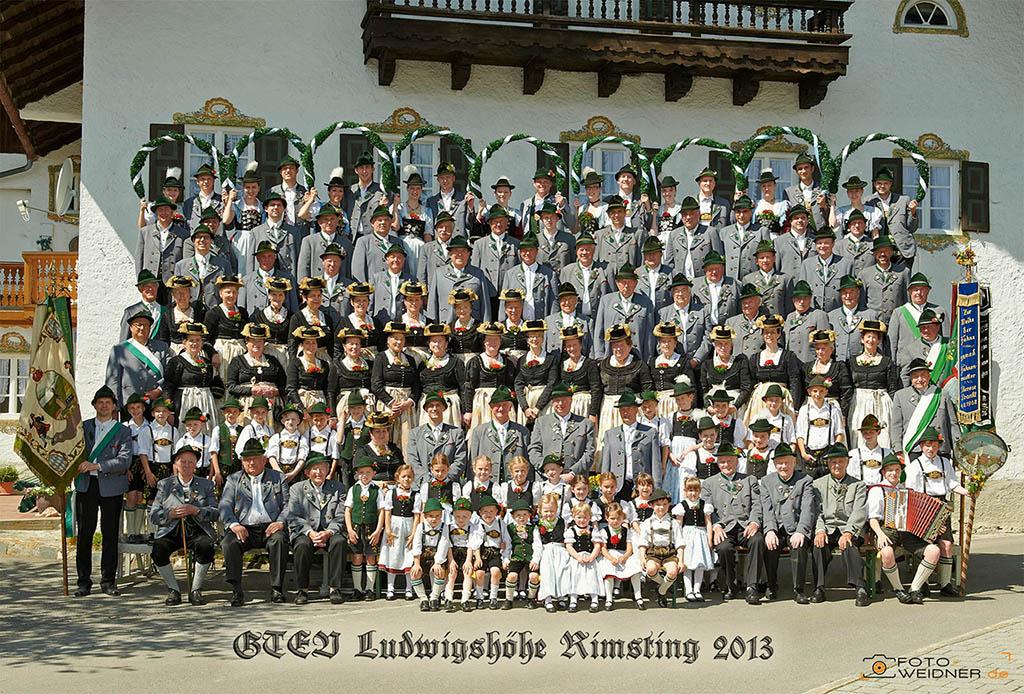 Gruppenfoto für Vereine GTEV Rimsting