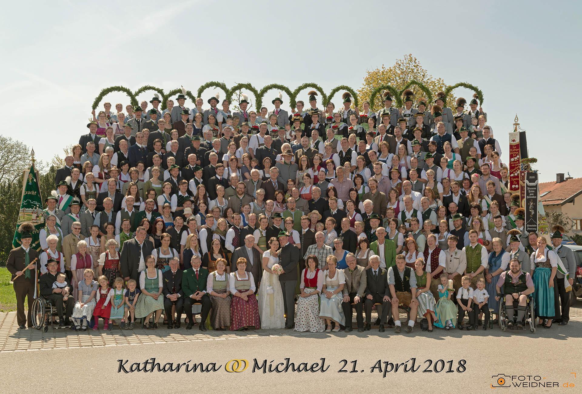 Gruppenfoto in Amerang im Chiemgau