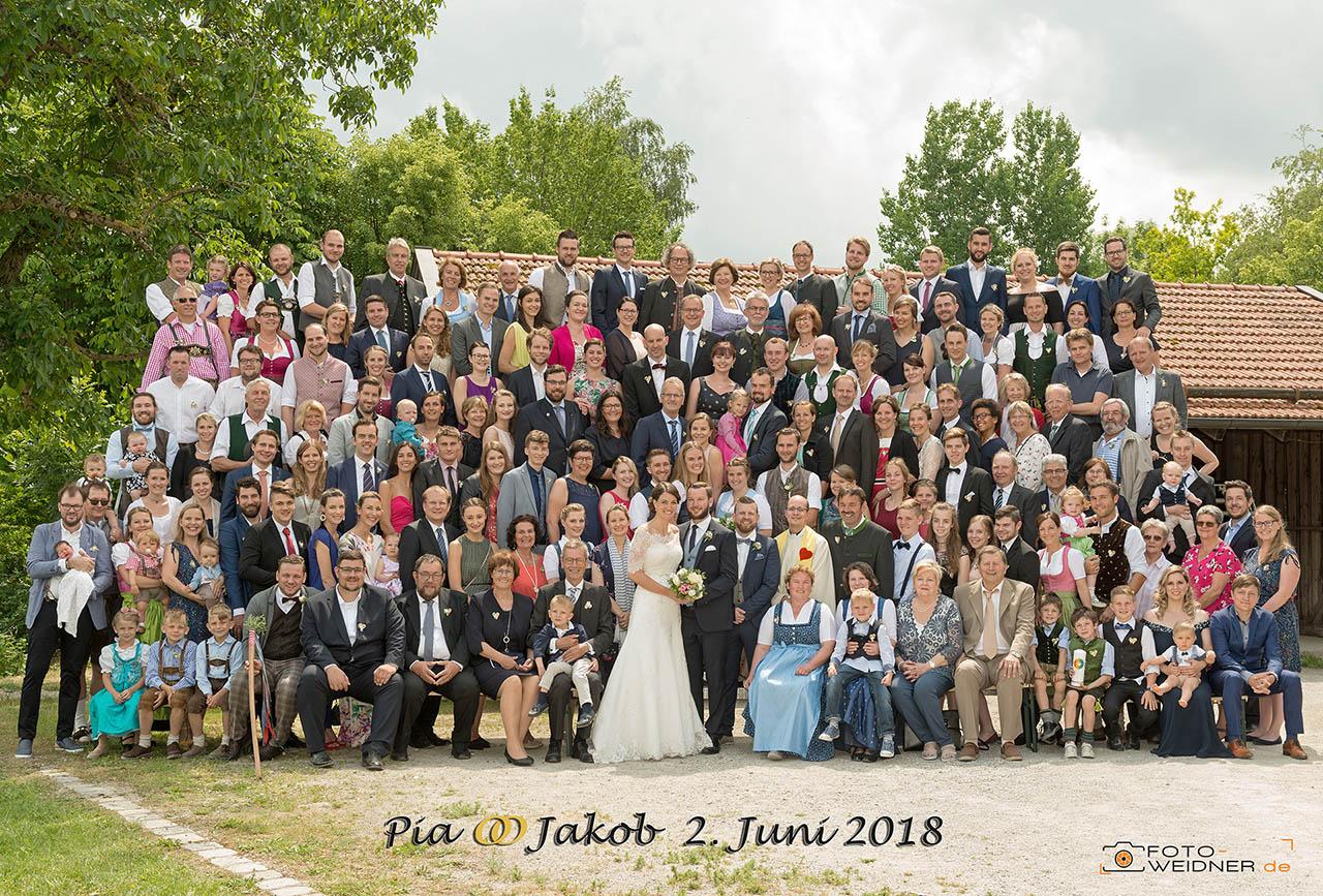 Gruppenfoto in Gstadt im Chiemgau