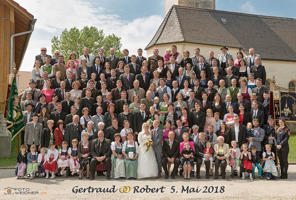 Gruppenfoto in Steinhöring bei Wasserburg