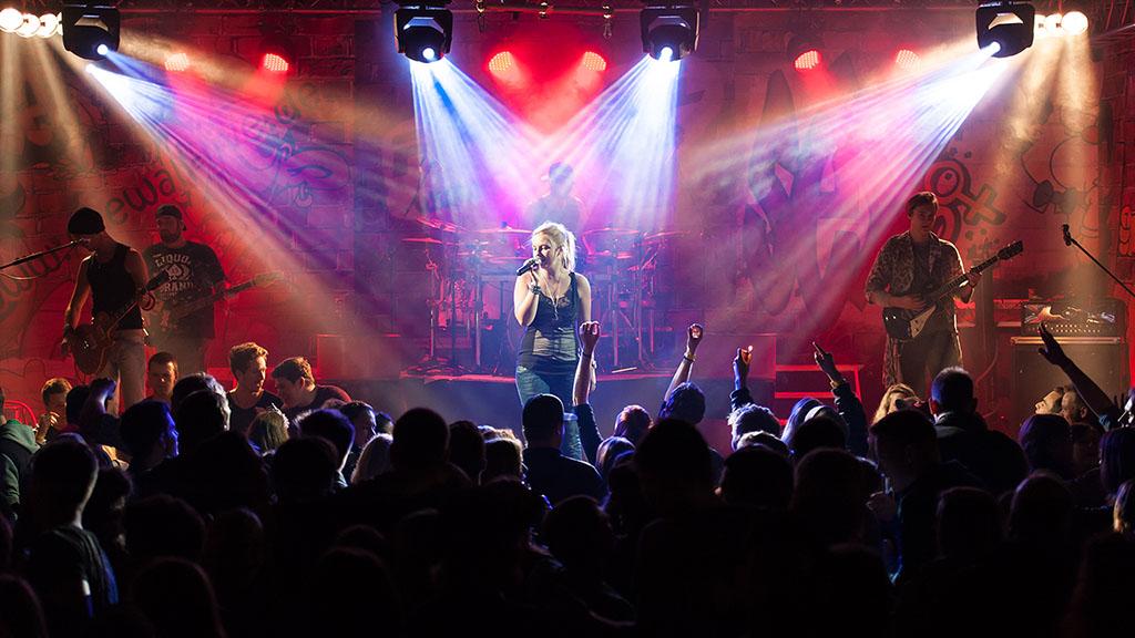 Konzertfotografie Konzert der Rock-Pop-Coverband und live Partyband Firewall