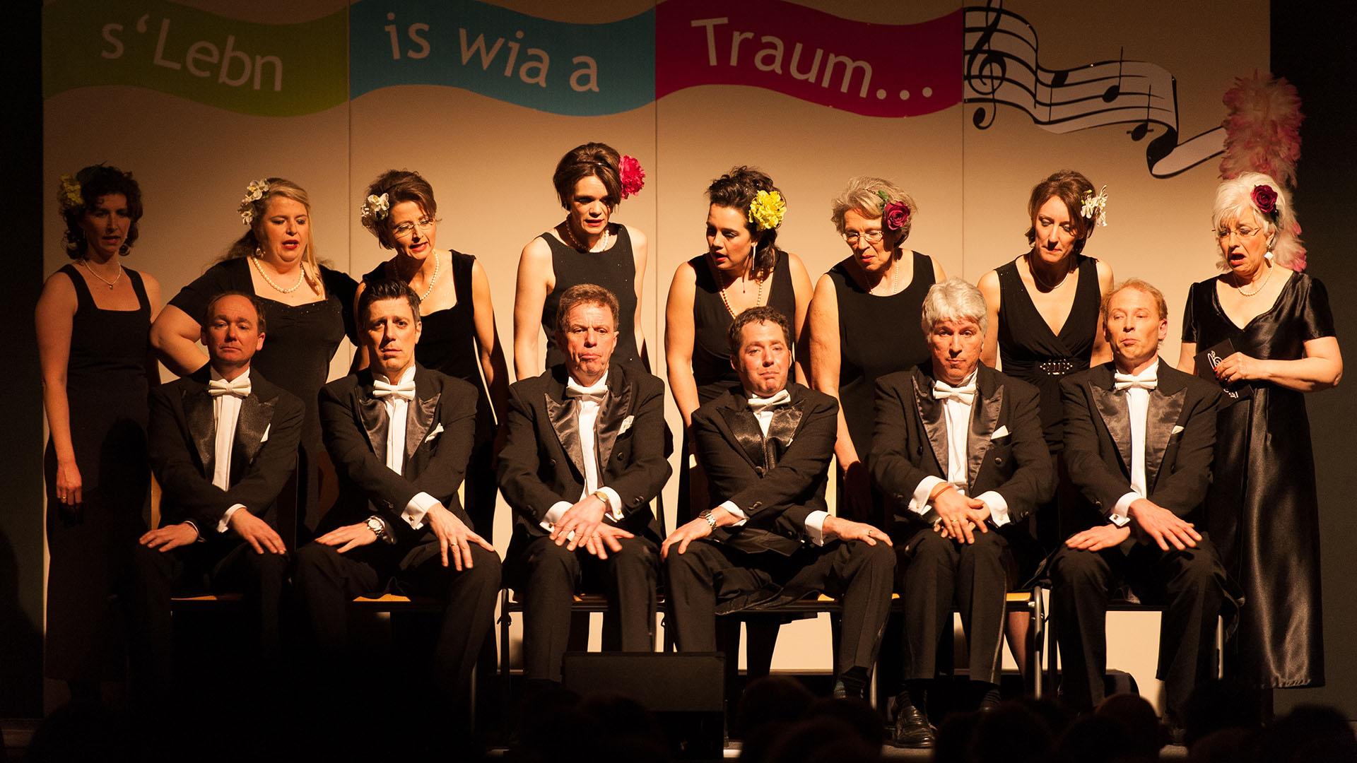 Konzertfotografie Konzert vom A-Capella Chor Rimsingers im Schloss Amerang
