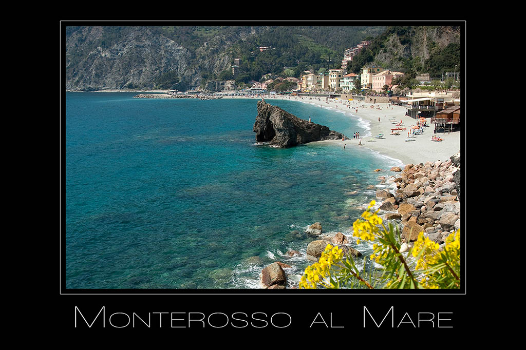Landschaftsfotografie Monterossa al mare in Cinque Terre Ligurien Italien