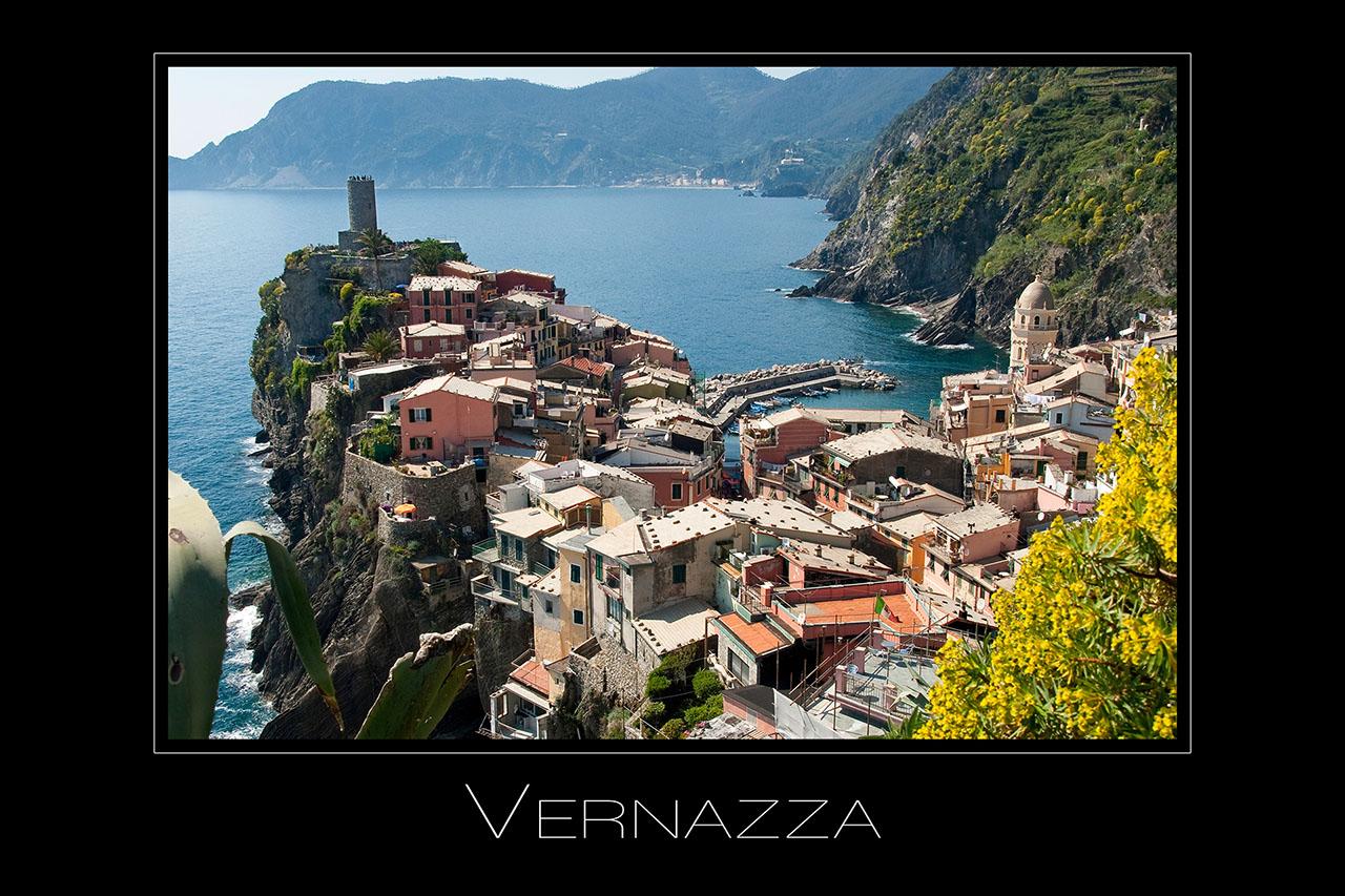 Landschaftsfotografie Vernazza in Cinque Terre Ligurien Italien