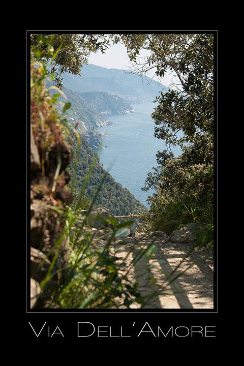 Landschaftsfotografie Via dell'amore in Cinque Terre Ligurien Italien