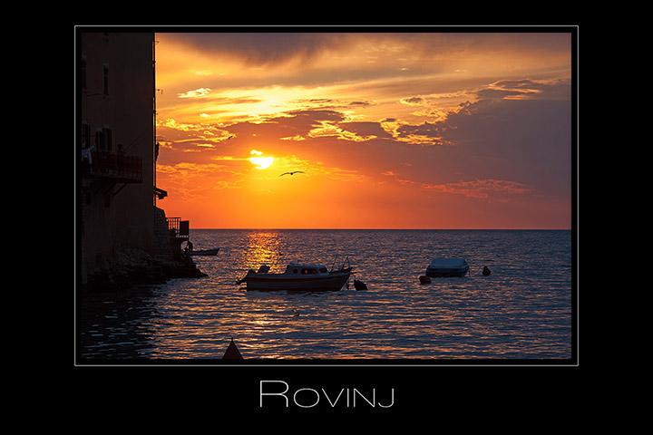 Foto Weidner Landschaftsfotografie Kroatien Rovinj Sonnenuntergang