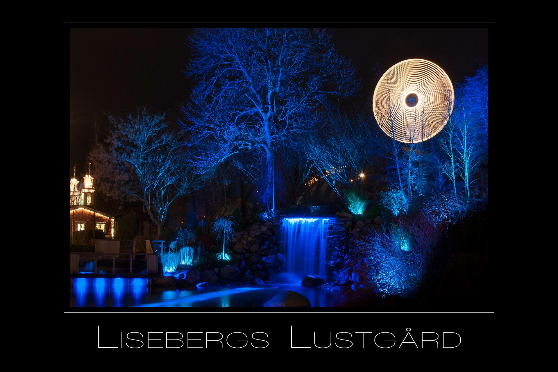 Landschaftsfotografie Lisebergs Lustgard in Goetheborg Schweden