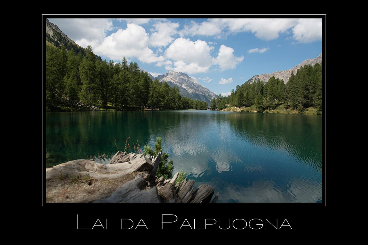 Landschaftsfotografie Lai da Palpuogna am Albula Pass in Graubuenden Schweiz