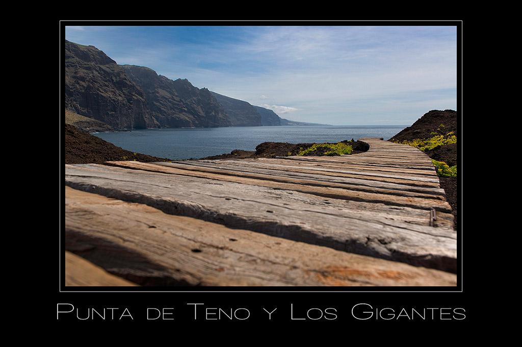 Landschaftsfotografie Blick vom Punta de Teno auf Los Gigantes auf Teneriffa Spanien