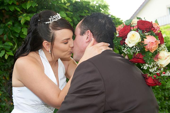Foto Weidner Hochzeitsfotos - Hochzeitsfotograf in Schongau - Portraits Ehepaar romantisch