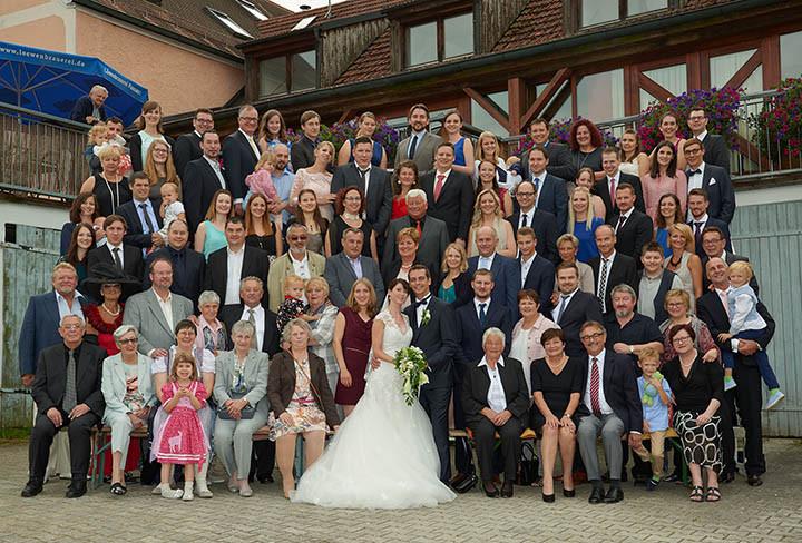 Foto Weidner Hochzeitsfotos Gruppenfoto Oberpfalz Regensburg unbearbeitet