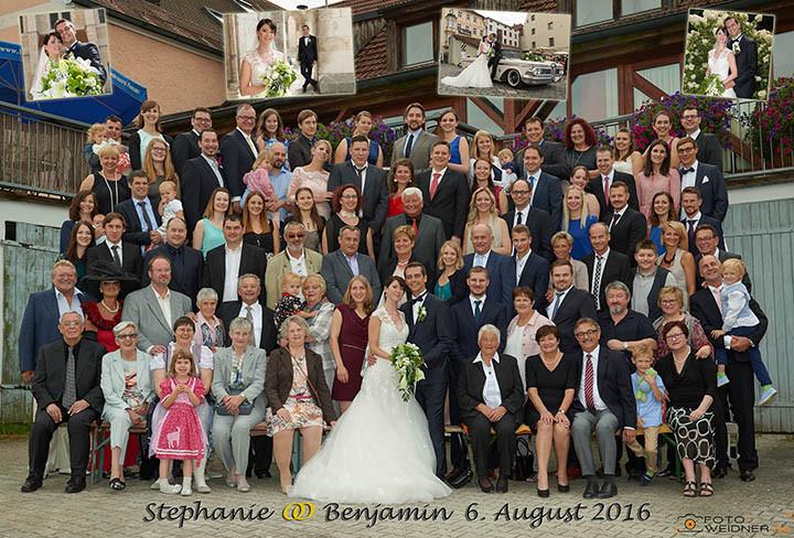 Foto Weidner Hochzeitsfotos Gruppenfoto Oberpfalz Regensburg